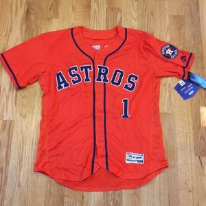Houston Astros #1 Correa jersey